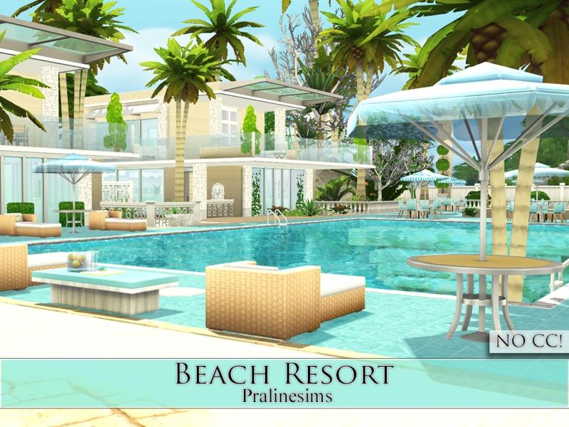 Pralinesims 39 beach resort for Beach house 3 free download