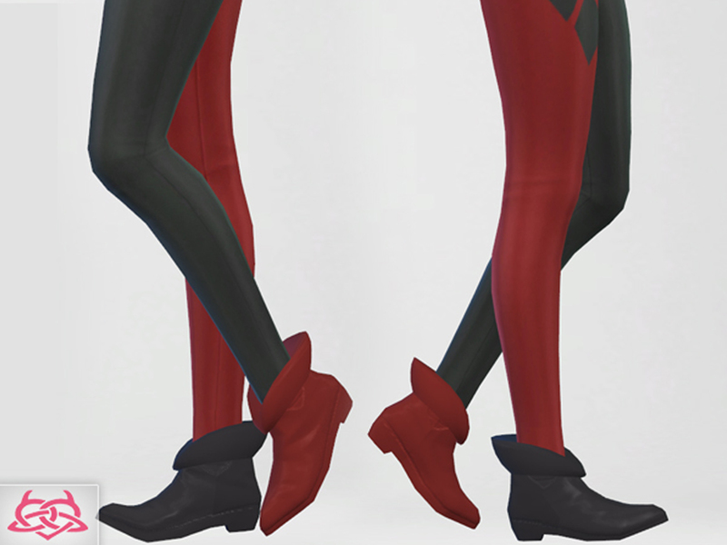 5fd0f43ee423f7 Colores Urbanos  Harley Quinn Shoes