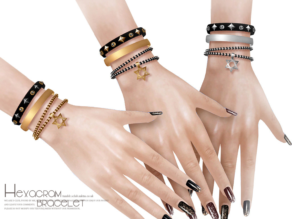 S-Club LL ts4  bracelet N07