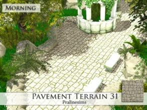 Sims 4 — Pavement Terrain 31 by Pralinesims — By Pralinesims