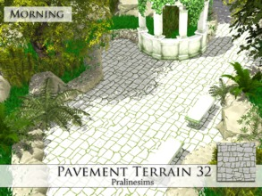 Sims 4 — Pavement Terrain 32 by Pralinesims — By Pralinesims