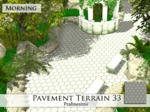 Sims 4 — Pavement Terrain 33 by Pralinesims — By Pralinesims