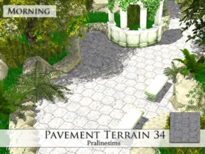 Sims 4 — Pavement Terrain 34 by Pralinesims — By Pralinesims