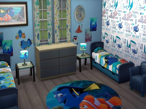 Grumpyglitter S Disney Pixar Finding Dory Child Room Set