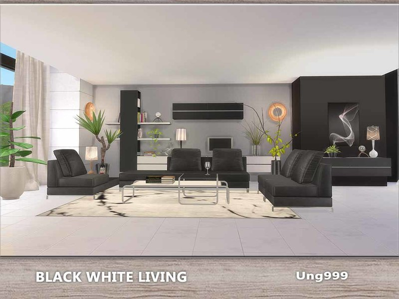 ung999\'s Black White Living