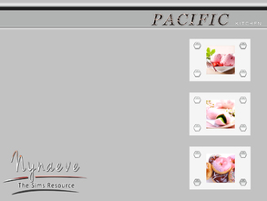 Sims 3 — Pacific Heights Food Print by NynaeveDesign — Pacific Heights Kitchen - Food Print Located in: Decor - Paintings