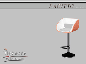 Sims 3 — Pacific Heights Bar Stool by NynaeveDesign — Pacific Heights Kitchen - Bar Stool Located in: Comfort -