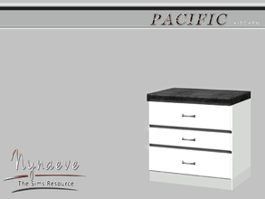Sims 3 — Pacific Heights Kitchen Counter by NynaeveDesign — Pacific Heights Kitchen - Kitchen Counter Located in: