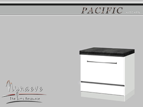 Sims 3 — Pacific Heights Dishwasher by NynaeveDesign — Pacific Heights Kitchen - Dishwasher Located in: Appliances -