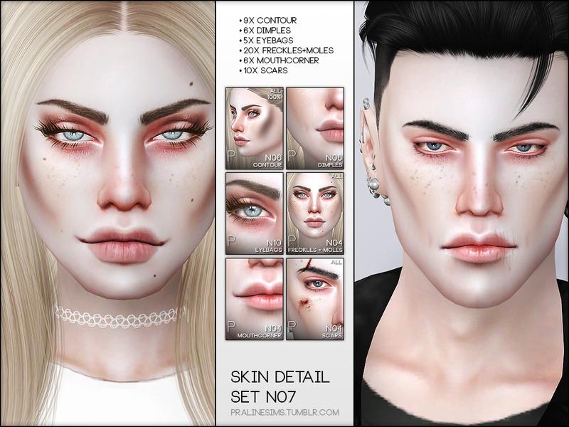 Pralinesims Skin Detail Kit N07