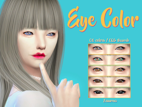 Sims 4 — Yume - Eyes N9 by Zauma — Hello! New eye colors for both genders! Are avaliable in 6 colors (as show on