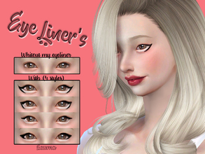 Sims 4 — Yume - Eyeliner N2 by Zauma — Hello! New eyeliner's for females, avaliable on 4 different styles. CAS thumbnail