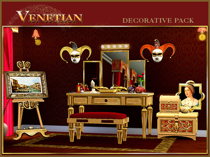 Cashcraft 39 S Venetian Decor Pack