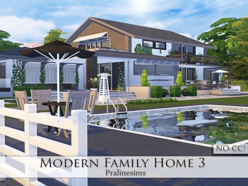 Modern family home 3