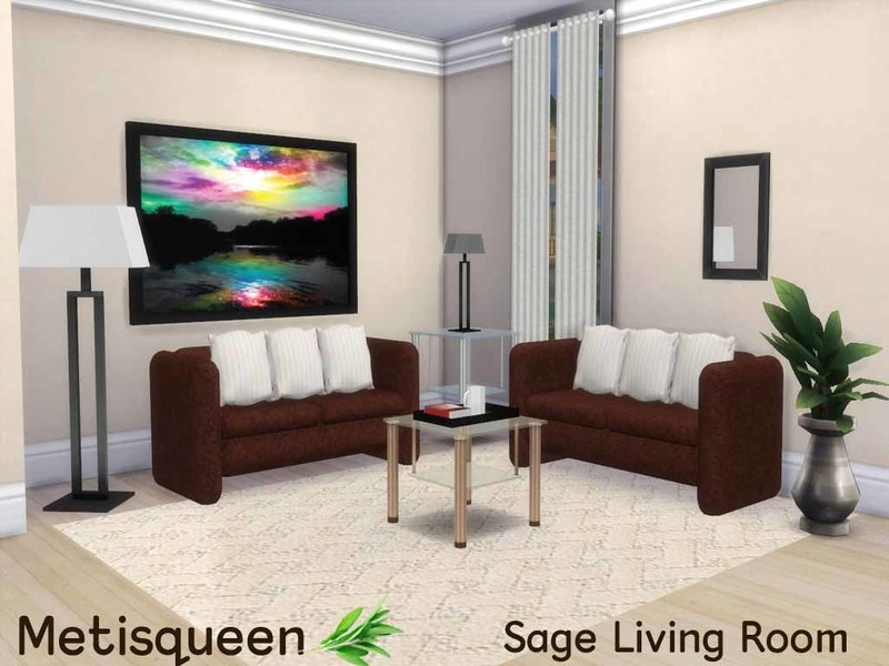 Metisqueen Sage Living Room
