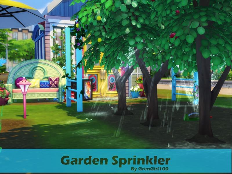 GreenGirly100s Garden Sprinkler