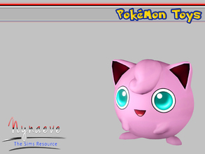 Sims 3 — Jigglypuff by NynaeveDesign — Pokemon Toys - Jigglypuff Located in: Kids - Miscellaneous Kids Price: 250 Tiles: