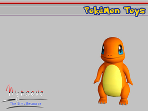 Sims 3 — Charmander by NynaeveDesign — Pokemon Toys - Charmander Located in: Kids - Miscellaneous Kids Price: 250 Tiles: