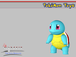 Sims 3 — Squirtle by NynaeveDesign — Pokemon Toys - Squirtle Located in: Kids - Miscellaneous Kids Price: 250 Tiles: