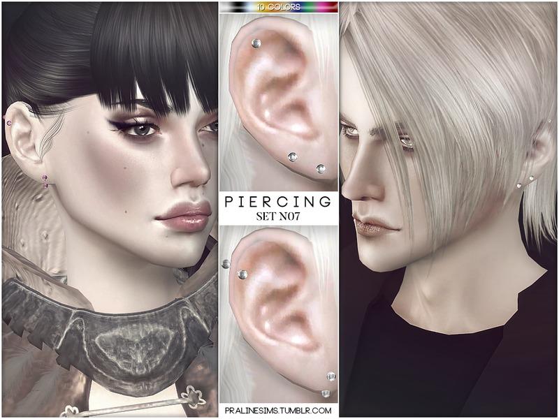 Pralinesims Piercing Set N07