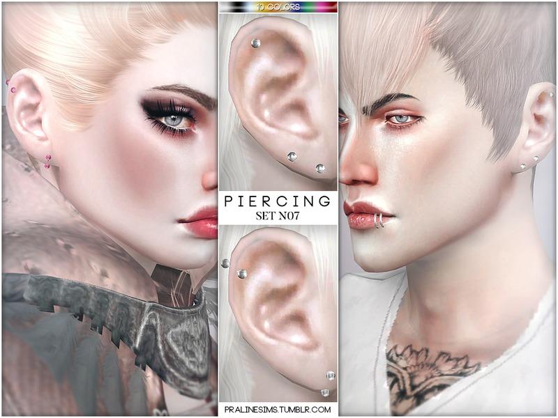 Pralinesims' Piercing Set N07