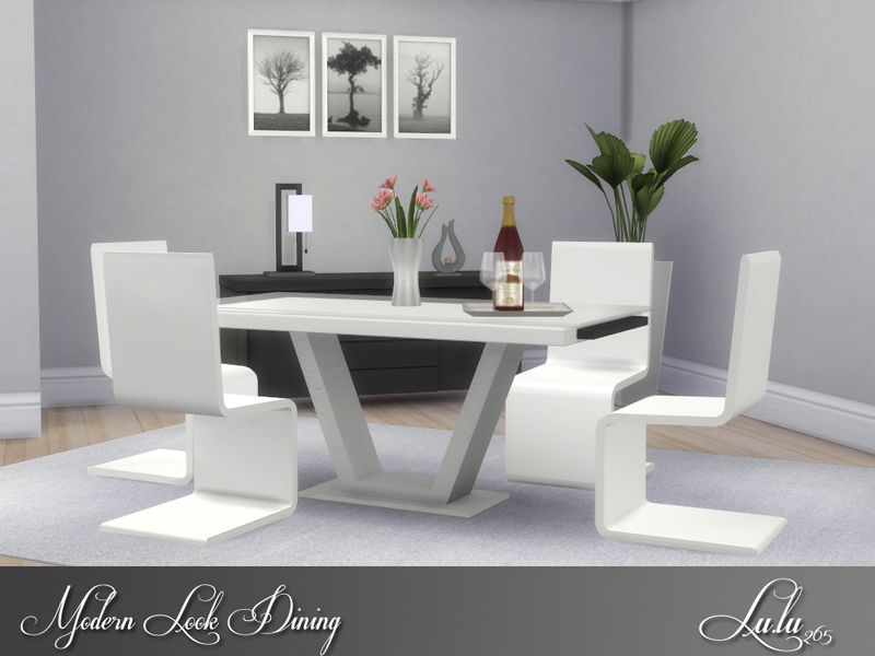 The Sims Resource 4 Dining Room Sets
