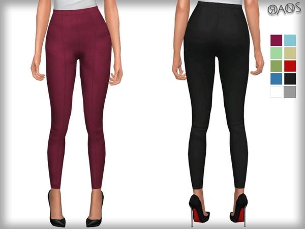 Oranostr S Skinny Crop Trousers Fixed