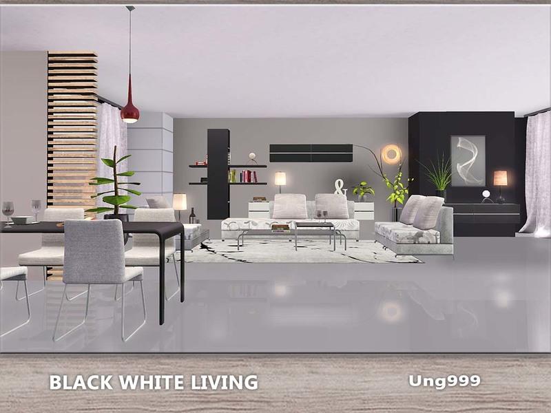 Ung999 S Black White Living: Ung999's Black White Living