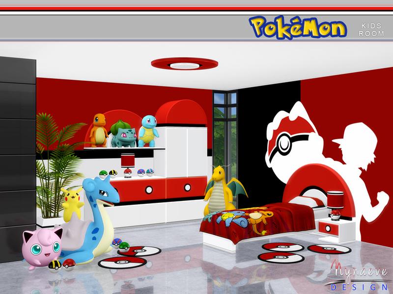 NynaeveDesign\'s Pokemon Kids\' Room