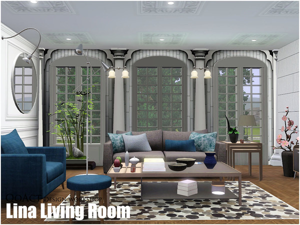 Tsr qoact for Living room ideas sims 3