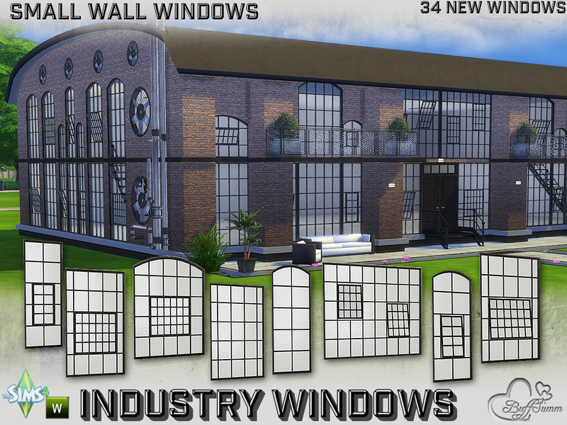 BuffSumm's Industry Windows for Small Wall Size
