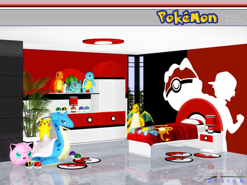 Nynaevedesign S Pokemon Kids Room
