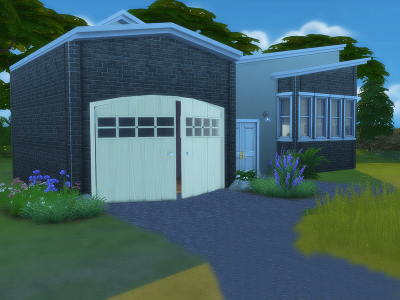 how to build a garage in sims 4