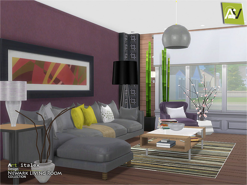 sims 2 living room sets artvitalex s newark living room 23543