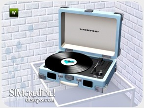 Sims 3 — Worry Less Stereo (Turntable) by SIMcredible! — by SIMcredibledesigns.com available at TSR