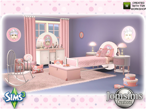 Jomsims Belly Lady Bedroom