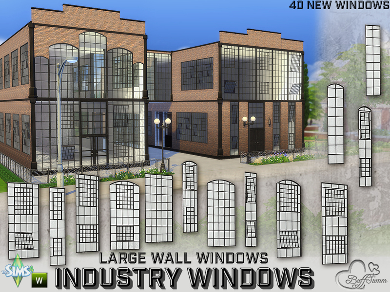 BuffSumm's Industry Windows for Large Wall Size