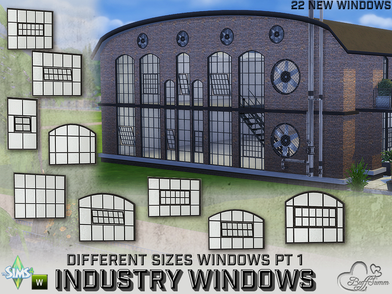 BuffSumm's Industry Windows for All Wall Sizes Pt  1