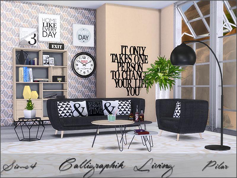 Pilar S Calligraphik Living
