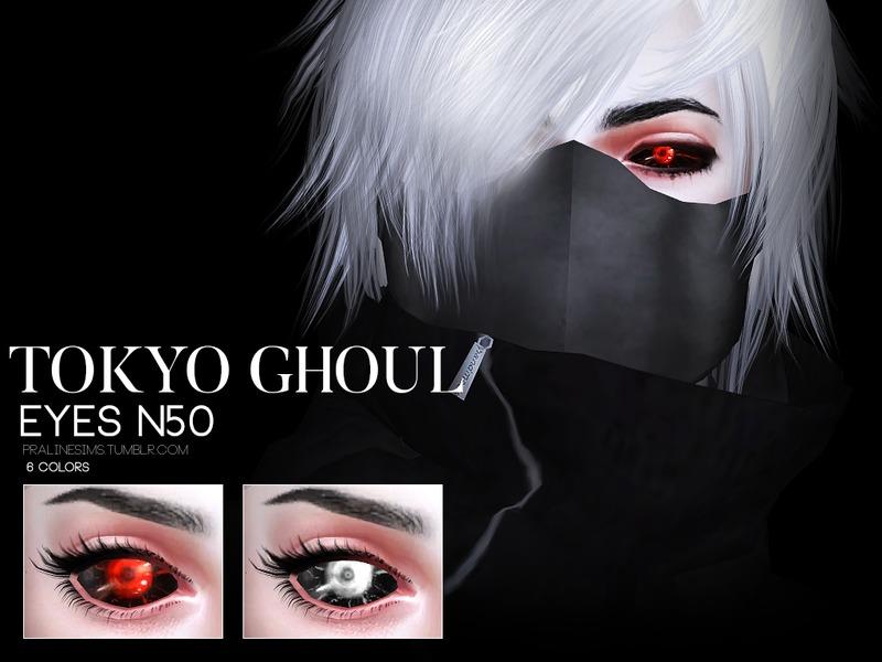 Pralinesims Tokyo Ghoul Eyes N51