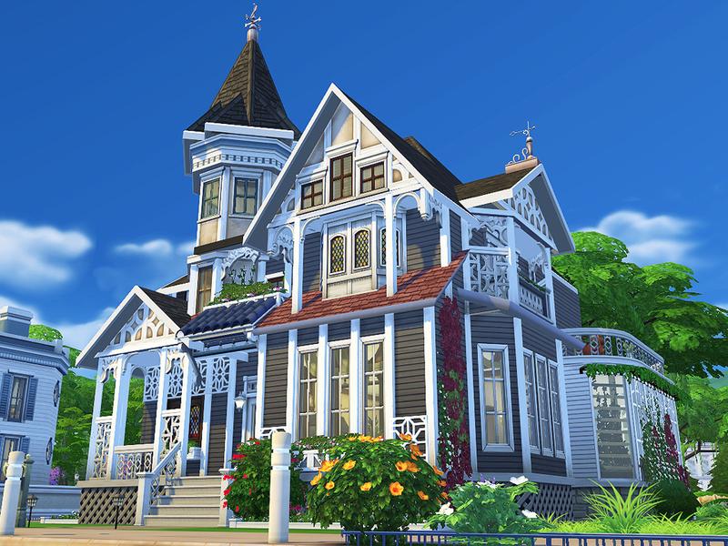 Anime Victorian Home