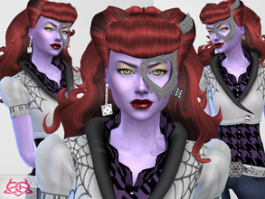 Sims 4 — Operetta hairstyle.no-alpha by Colores_Urbanos — Monster High - Operetta hairstyle new meshes made by me from