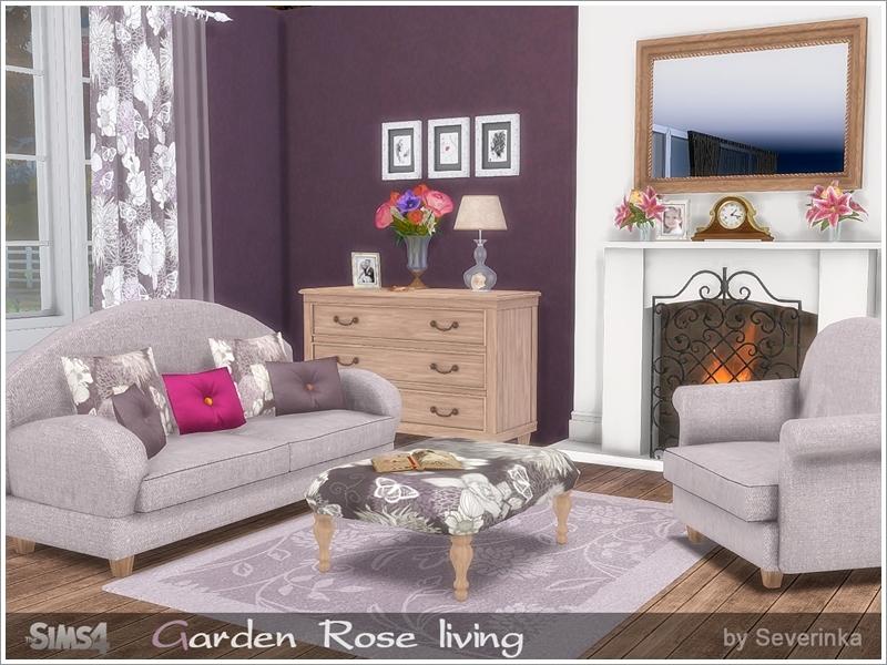 Severinka 39 s garden rose livingroom for Living room sets under 800