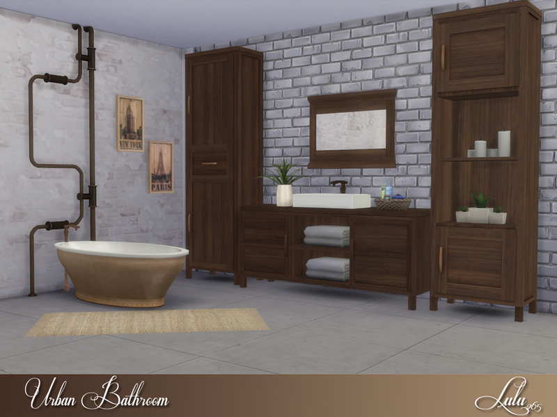 Lulu265 39 s urban bathroom for Urban bathroom ideas