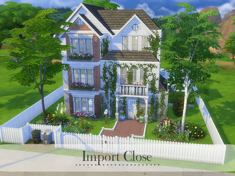 Madabbsim 39 s import close for Best house designs sims 4