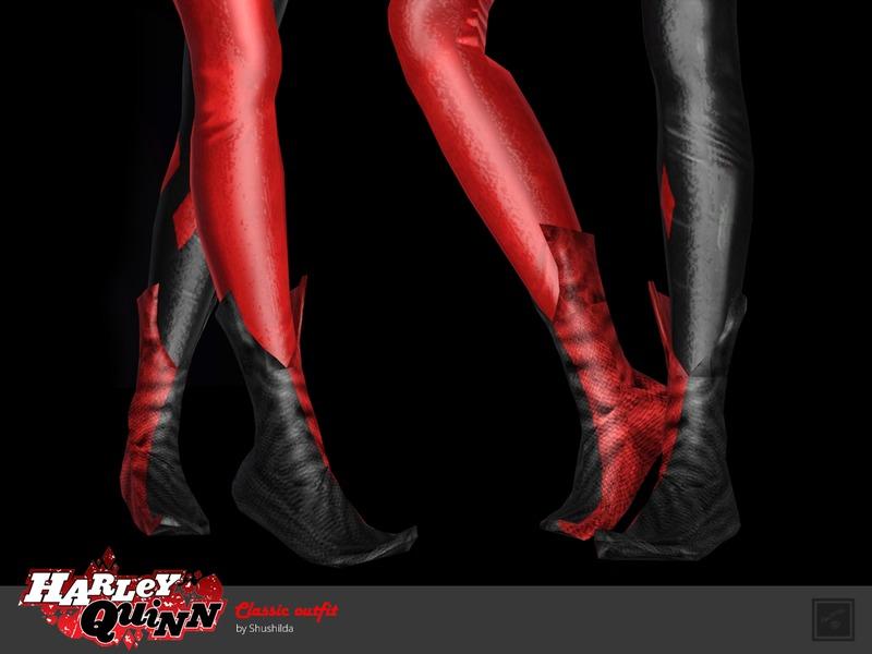 500eb47d6c752b Shushilda s Classic shoes Harley Quinn