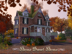 Sims 3 — Home Sweet Home by fredbrenny — This fall let's spend some time with your family at your parents home, bring the