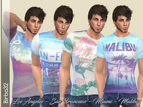 Sims 4 Male Clothing - 'pastel'