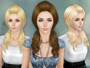 Sims 3 — Ellie Hairstyle - TE by Cazy — Hairstyle for Females, Teen through Elder. All LODs.