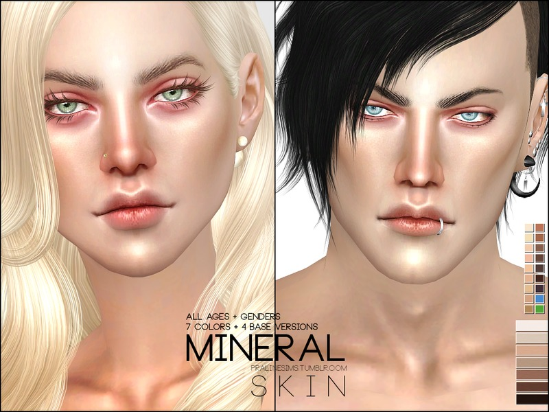 Pralinesims' PS Mineral Skin